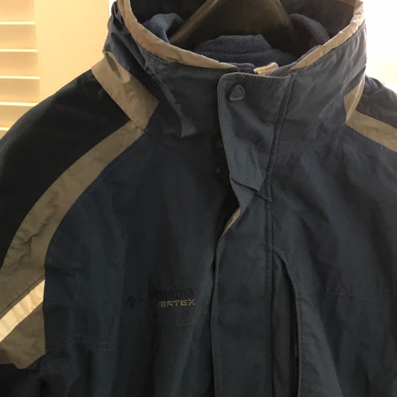 Columbia Vertex Core Interchange ski jacket. XL